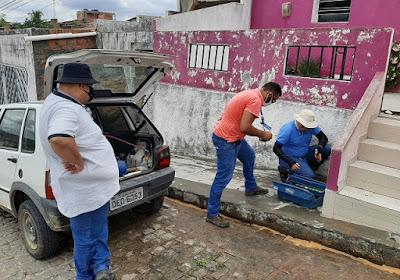 Operação da Casal combate fraudes e beneficia o abastecimento em Mata Grande
