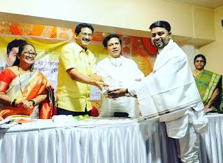 समाज भूषण पुरस्कार से सम्मानित हुए पत्रकार अरुण कुमार गुप्ता  | #NayaSaberaNetwork
