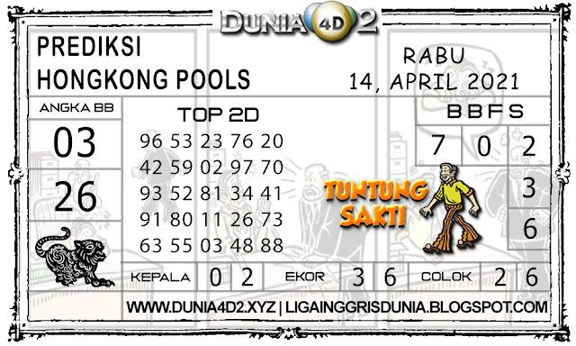 Prediksi Togel HONGKONG DUNIA4D2 14 APRIL 2021