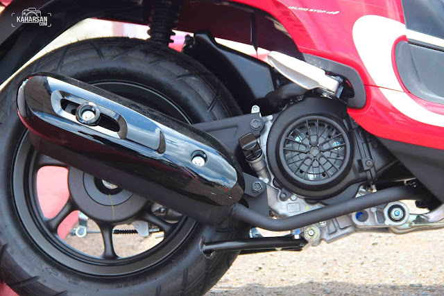 Ban motor All New Honda Scoopy Pontianak | kaharsan