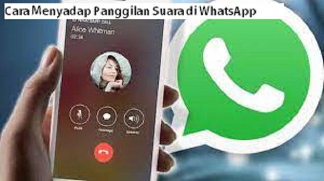 Cara Menyadap Panggilan Suara di WhatsApp