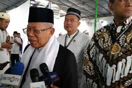Maruf Amin: Semoga Saya, Pak Prabowo Dan Pak Sandi Diampuni