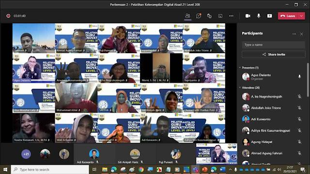 Pelatihan Keterampilan Digital Abad-21 Level 200