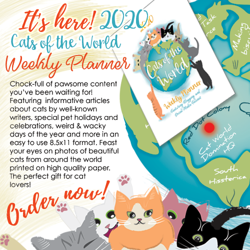 2020 Cats of the World Weekly Planner