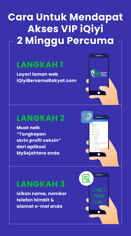 Kerjasama iQiyi dan CITF sempena kempen iQiyi Bersama Rakyat Malaysia
