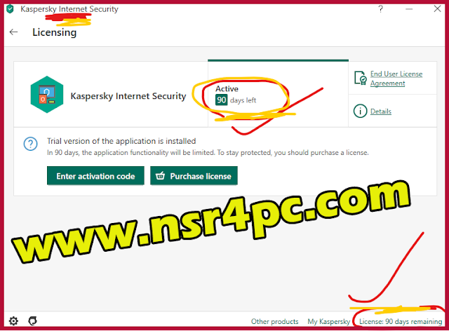 kaspersky internet security activation code 2020