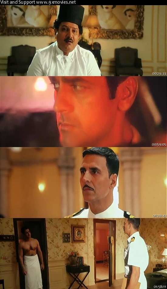 Rustom 2016 Hindi DVDScr XviD 700MB