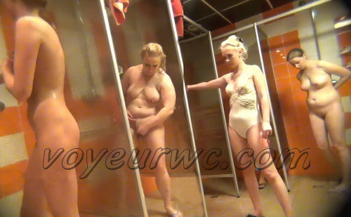 Hidden Camera in a Fitness Club Shower (Shower Spy 357-368)