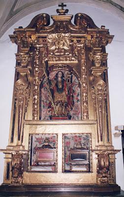 Retablo de Santa Bárbara, 1999