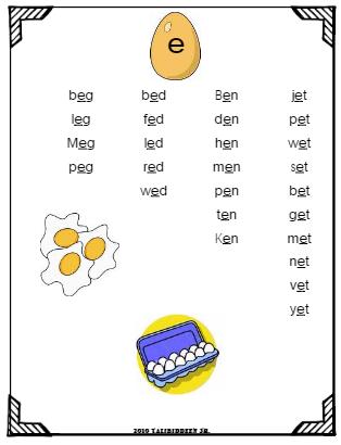 Number Names Worksheets short i sound worksheets : Ea Words With Short E Sound Worksheets - darkfutenbo21 s souplong ...
