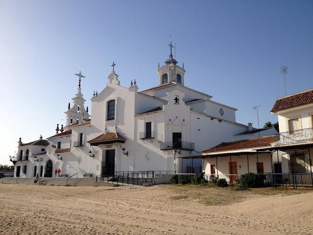 la bonita ermita de El Rocío