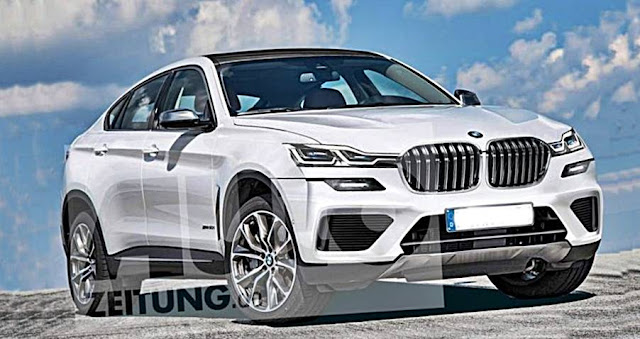 2021 BMW X6 Rendering Rumors