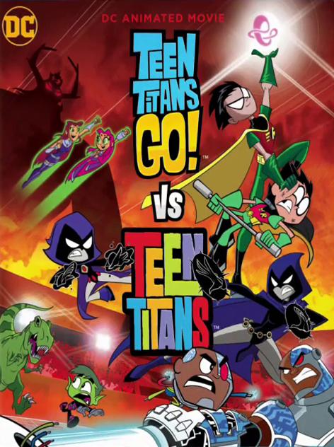 Teen Titans Go! Vs. Teen Titans [2019] [CUSTOM HD] [DVDR] [NTSC] [Latino]