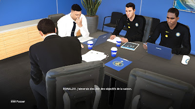 PES 2021 ML Coach & Staff FC Inter Fantasy by Matsy Monger