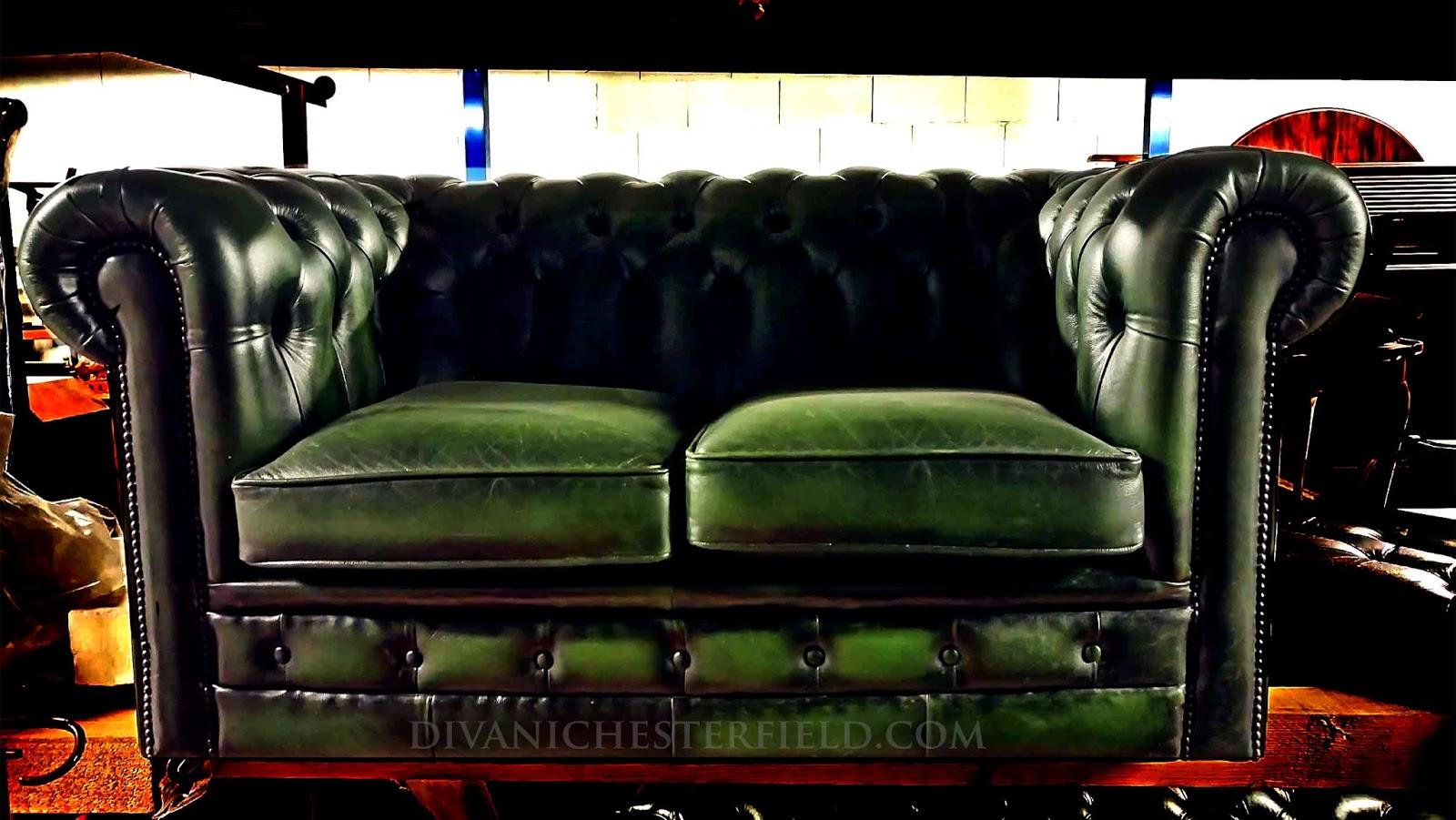Divani chesterfield vintage usati e nuovi - Divani in pelle usati ...