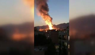 Tension in Iran capital as explosion kills 19 people