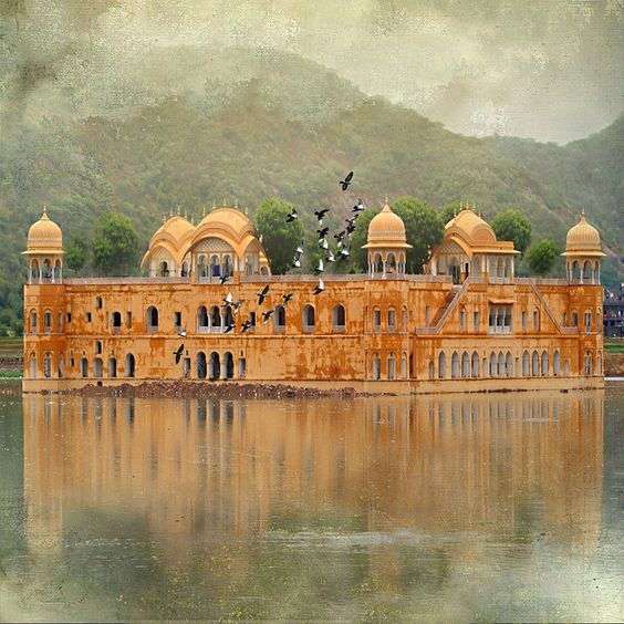 Managed Account Platforms - Jal Mahal Palace, Man Sagar Lake, Jaipur. India
