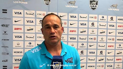 Nicolás Fernández Miranda, entrenador asistente de Los Pumas