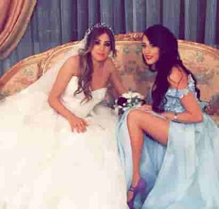 Rouba Saadeh With Her Sister