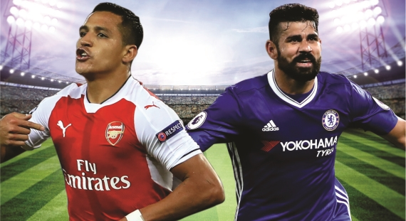 Who will come out on top when Arsenal host Chelsea in an epic London Derby at the Emirates Stadium?