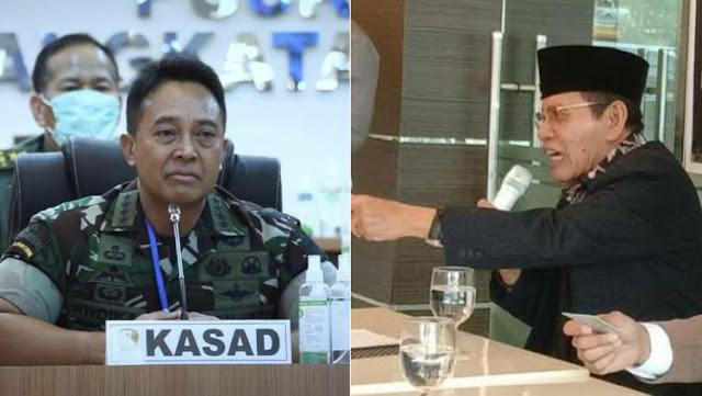 Mantan Danpuspom Kritik KSAD Andika karena akan Pecat Prajurit TNI Penyerang Polsek Ciracas