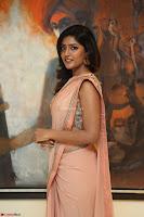 Eesha Rebba in beautiful peach saree at Darshakudu pre release ~  Exclusive Celebrities Galleries 039.JPG