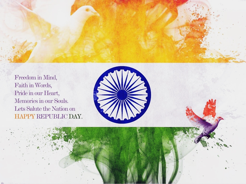 Republic Day Images With Quotes: Happy Republic Day 2019 Quotes Wishes In English