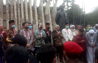 Din Syamsuddin Tegas Saat Deklarasi: Inget Ya! Kalau Ada yang Mengacau, Itu Bukan dari KAMI
