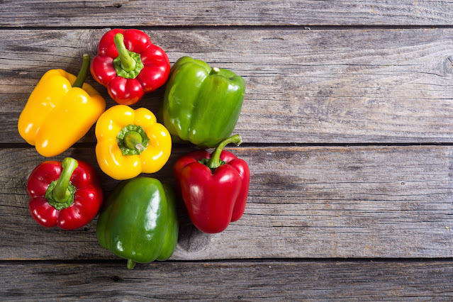 Bell peppers (Capsicums) during pregnancy - Health Benefits