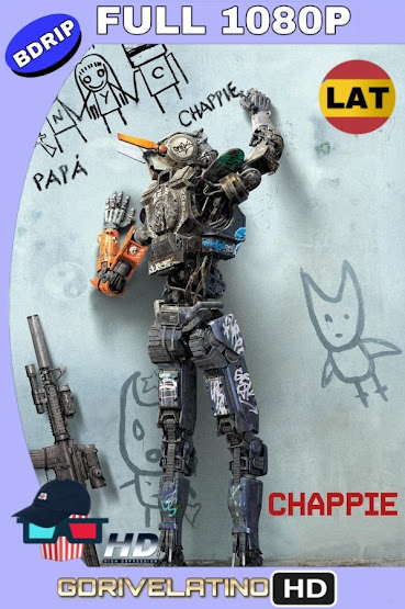 Chappie (2015) BDRip 1080p Latino-Ingles MKV