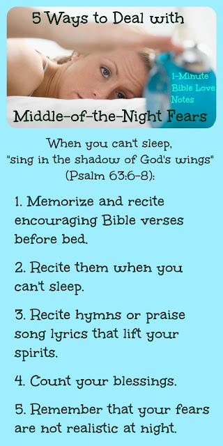 Singing in the Shadow- 5 Ways to Overcome Nighttime Fears - Psalm 63:6-8