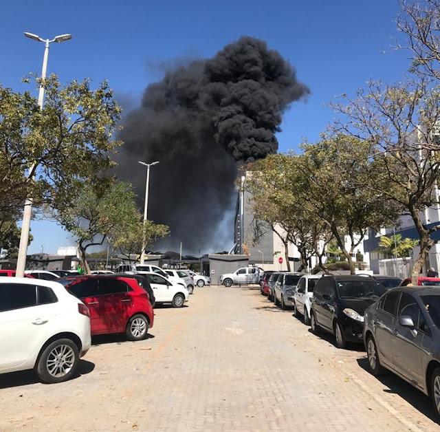 Incêndio em hospital particular do DF faz pacientes serem retirados às pressas