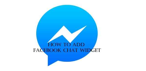 How To Add Facebook Chat Widget In Blogger