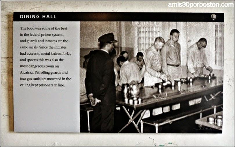 La Prisión de Alcatraz: Comedor