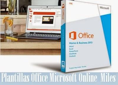 Plantillas Office Microsoft Online Miles...