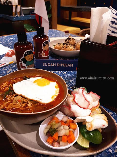 Makanan Indonesia di mall Jakarta