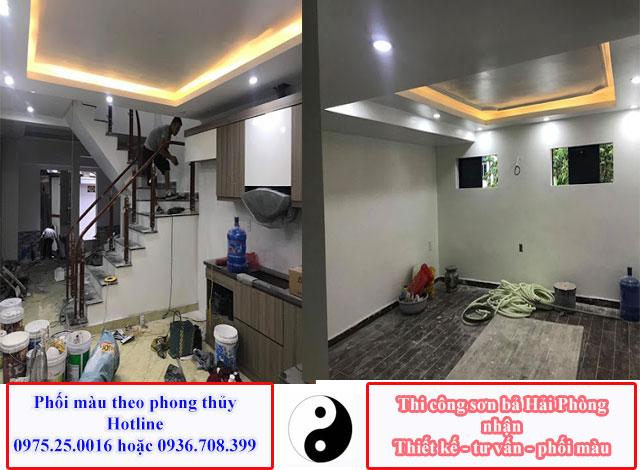 Dịch vụ sơn nhà đẹp giá rẻ tại Hải Phòng - Sơn sửa nhà Hải Phòng 0975 25 0016 luôn đáp ứng theo yêu cầu của khách hàng kể cả những khách hàng khó tính nhất