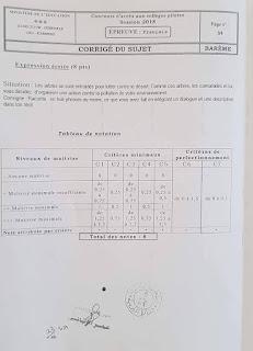36294302 10204705645756879 1882494572542558208 n - الإصلاح الرسمي لإختبار حسب وزارة التربية لإختباري الإيقاظ و الفرنسية نموذجي سيزيام 2018