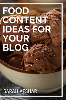 Food Content Ideas