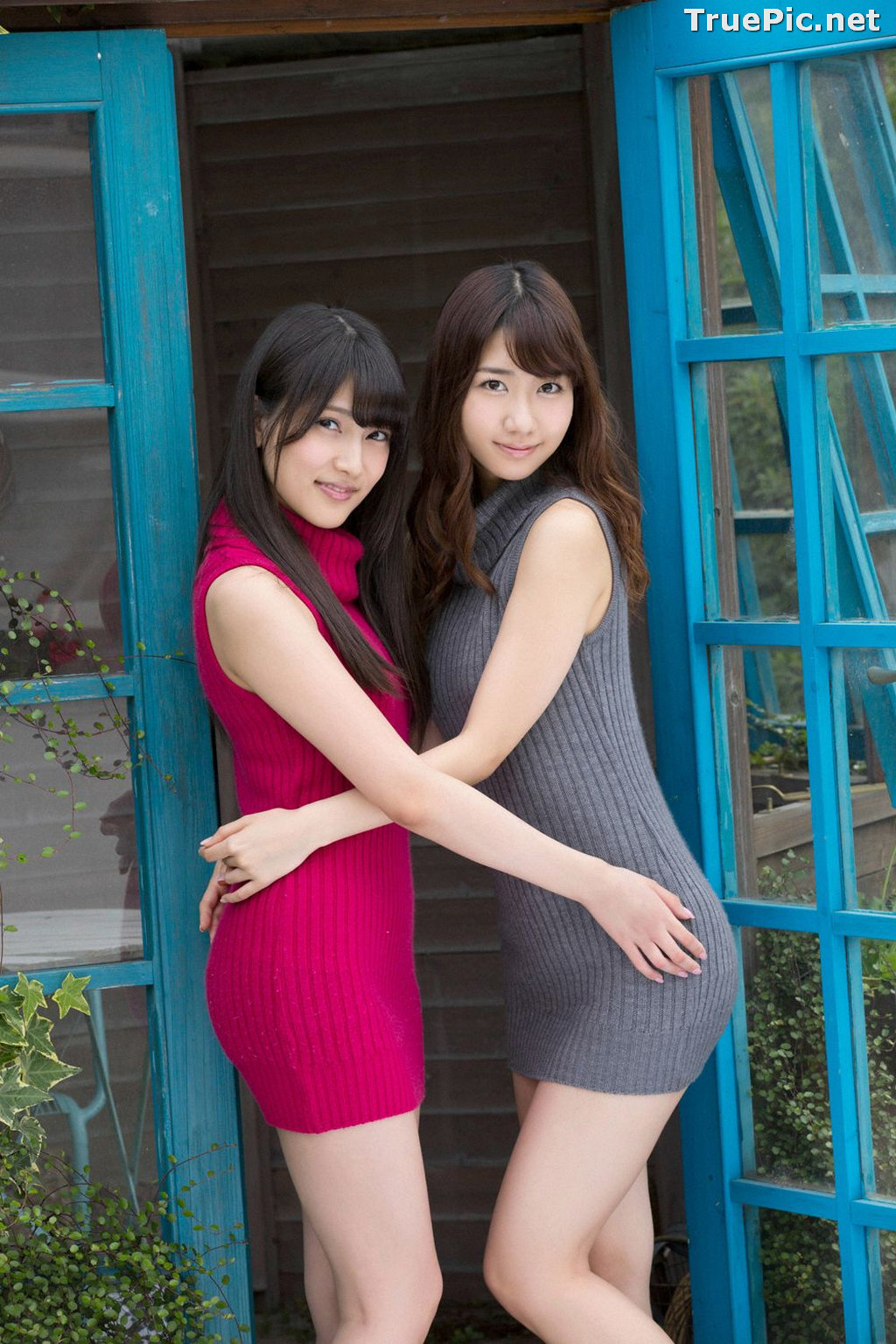 Image YS Web Vol.633 - Japanese Model - Yuki Kashiwagi & Anna Iriyama - TruePic.net - Picture-3