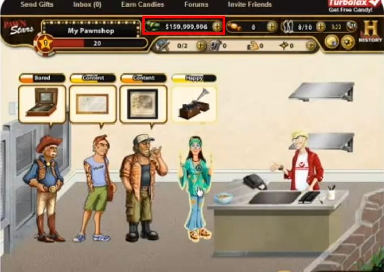 Pawn Star Games Cheats