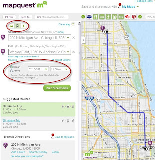 Mapquest Travel Bookings