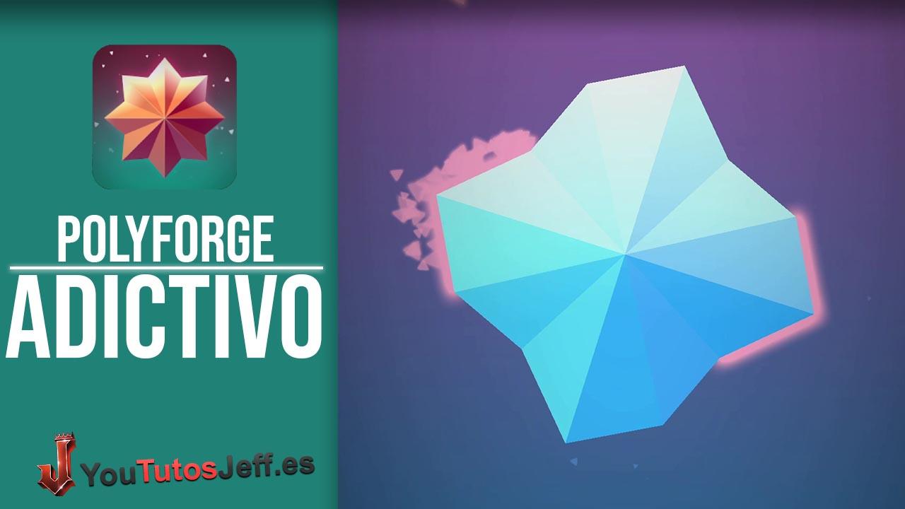 Minimalista Juego Adictivo para Android, Descargar Polyforge