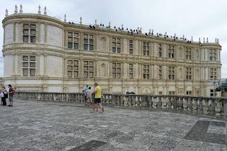 Fachada del Castillo de Grignan.