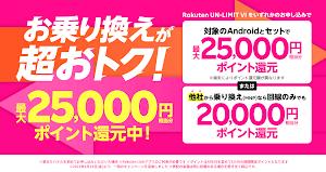 楽天モバイルが端末購入なしのMNPでも最大2万ポイント還元キャンペーンを開始!回線のみでOK!