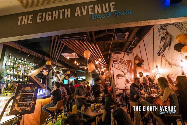 The Eighth Avenue Bar & Resto At Solaris Dutamas Publika