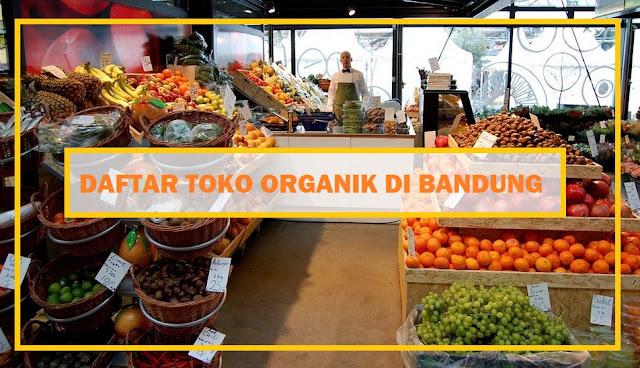 toko organik bandung