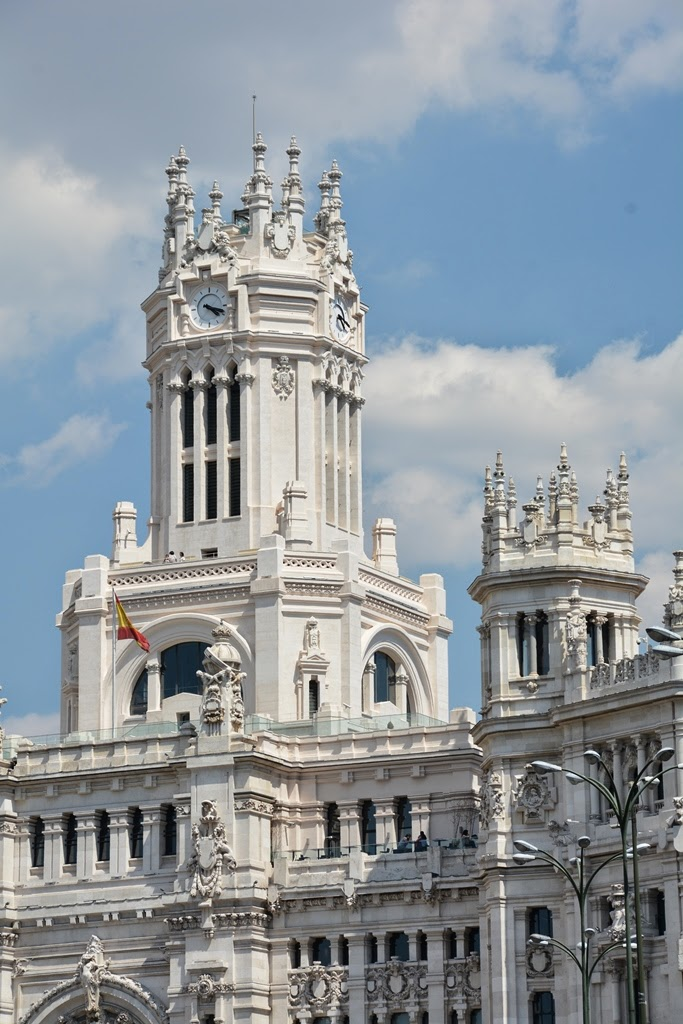 Cibeles Palace Madrid tower