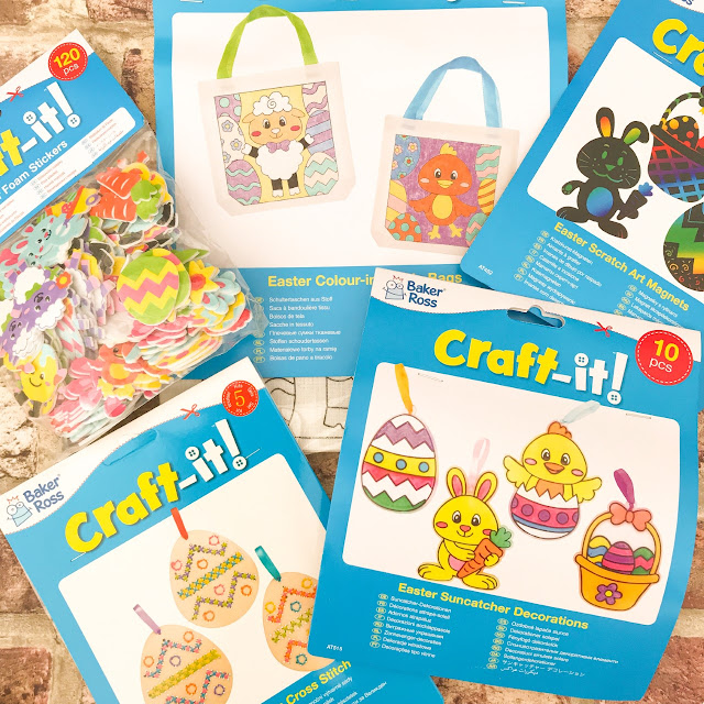 Selection of different Easter crafts