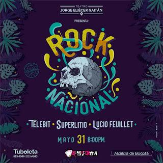 Concierto de SUPERLITIO, TELEBIT Y LUCIO FEUILLET en Bogotá